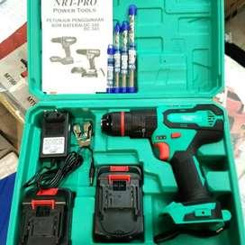Bor Cordless NRT Pro 343 like new jarang pake