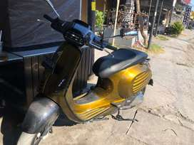 Vespa sprint iget mulus modifikasi