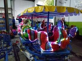 rumah balon odong odong2 fiber usaha mainan ER