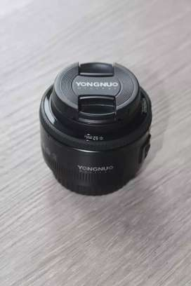 Lensa fix yongnuo 50mm