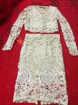 Dress Brokat ukuran M