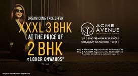 3 BHK Flats for Sale in Kandivali West at Acme Avenue
