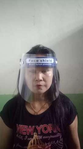 Face shield pelindung muka