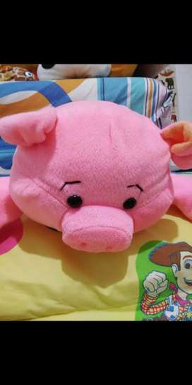 Boneka bantal babi uk 40cm