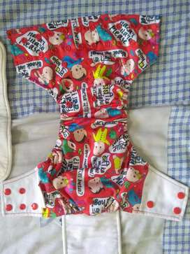 Cloth diapers aio