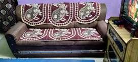3 sheeter and  1 sheeter sofa set