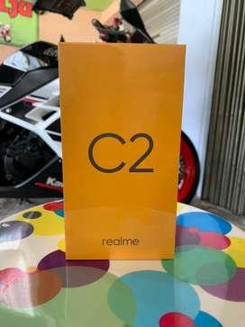 Realme C2 baru ram 3/32 garansi 1 tahun