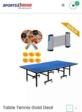 Table tennis deal mdf board table with 8 wheels
