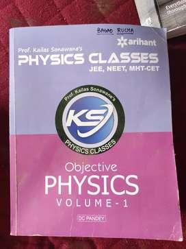 Arihant Physics Class (10+2)-D C Pandey Vol.1&2