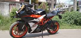 RC 390 ABS from KTM awesome condition instant sale exchange available