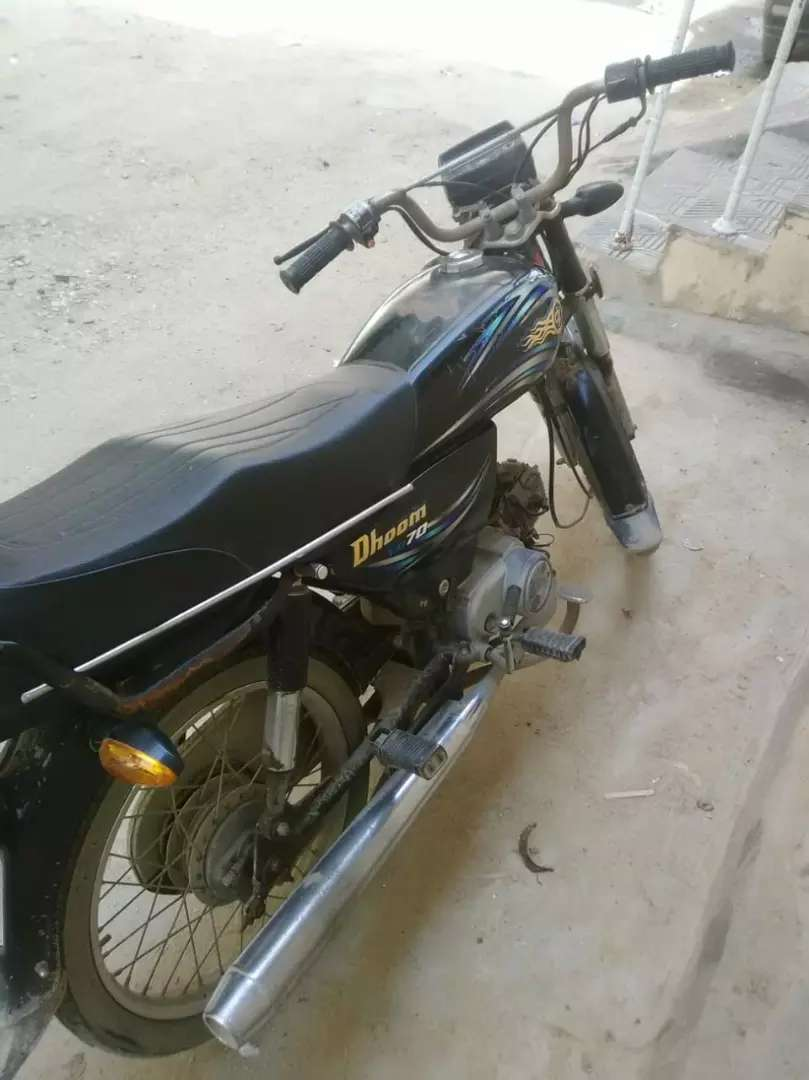 Life time tax paid Yamaha Dhoom 2 70cc Sealed Engine All OK Condition
