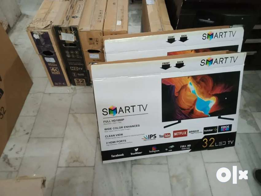 "32"" inch [branded smart led tv+ 20-watt Dolby sounds 1 year warranty)"