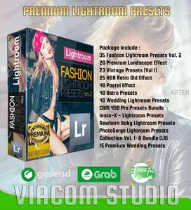 Lightroom Presets Premium Bundle Murah - Viacom Studio