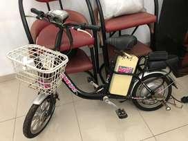 Sepeda listrik asli SELIS