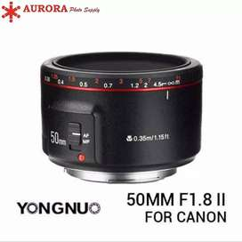 Yungnuo 50mm ii for canon