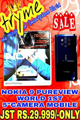TRYME World 1st 5CAMERAS NOKIA 9 Pure VIEW full Kit Box