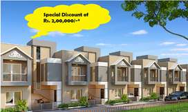 HURRY RS. 200000* DISC.ON 4BHK DUPLEX @KANHA GALAXY@WAGHODIA ROAD