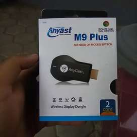 Anycast M9 Plus (wireless dongle HDMI)