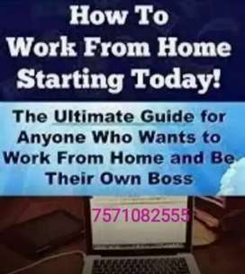 Generate income with typing earn income basically...