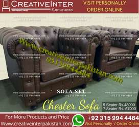 Chester sofa office fitstyle table Computer study workstation bed set