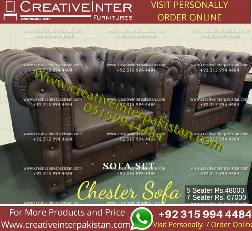 Chester sofa office fitstyle table Computer study workstation bed set 0
