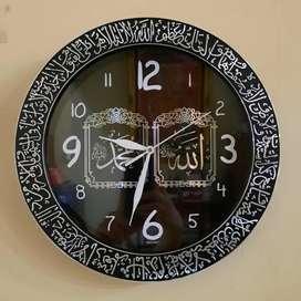 Jam Dinding Kaligrafi Allah Muhammad
