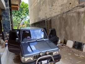 Dijual Kijang Super silver th 1996 kondisi baik harga nego DKI Jakarta