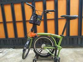 Sepeda lipat pro action 3s
