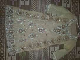 1 time used full steach dress