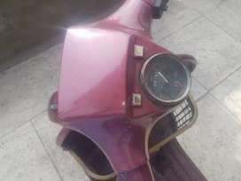 Stylish redish vespa available in low price fully modify