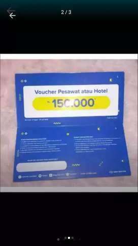 Voucher tiket pesawat dan hotel murah dari yang lain