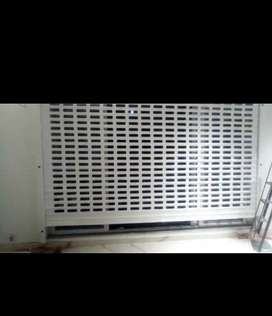 Automatic shutters ms aluminum polycarbonate