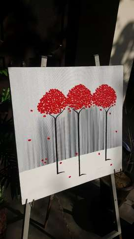 Canvas Acrylic Painting (hand made)