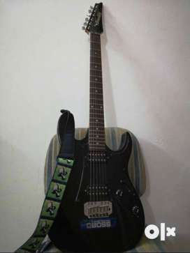 Ibanez GIO Series Guitar(Black; Premium string set and strap included)
