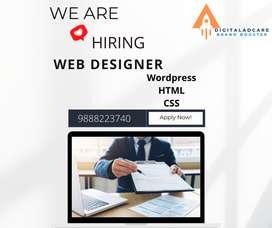we are hiring web designer
