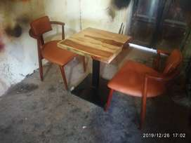 Brand new restaurant table & chair furniture