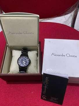 Alexandre Christie Stainless Stel 3ATM Original Watch