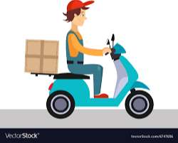 Ecommerce delivery- Male