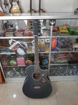 Gitar akustik taylor meranti pream 7545r