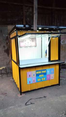 Booth container / bebas costum