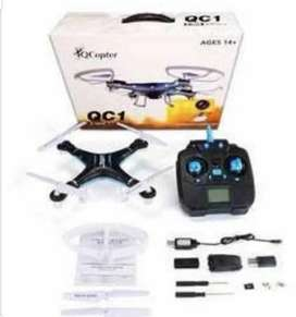 QCI  COPPTER DORONE | 2.4GHZ | 6-axis GYRO DRONE | free camera