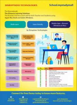 School management software & learning management software