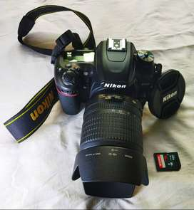 Nion camera 7500+d good condition full kit two