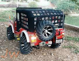 Open quality Modified Jeep Jypsy   & Thar Jeeps