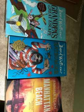 David William's first edition books (fictional)