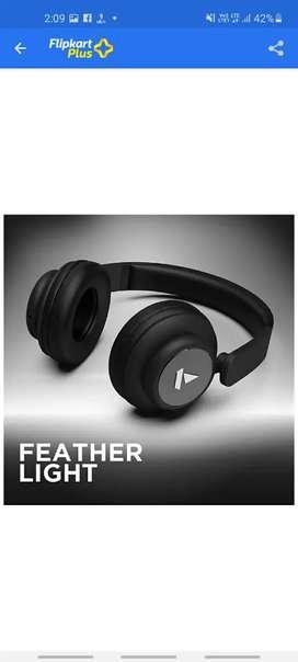 BoAt Rockerz 450 Bluetooth Handset (luscious black On The Ear)