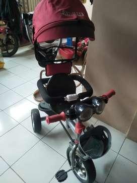 Sepeda roda 3 famili