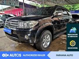 [OLXAutos] Toyota Fortuner 2010 2.7G Luxury Matic Bensin #Farhana Auto