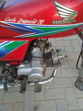 Honda 70 cc  good condition