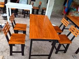 Set meja kursi cafe bigsale